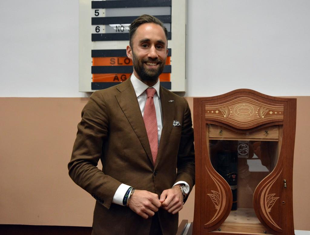Habanos Festival 2018 - Darius Namdar from Great Britain won the XVII Edition of the International Habanosommelier Contest