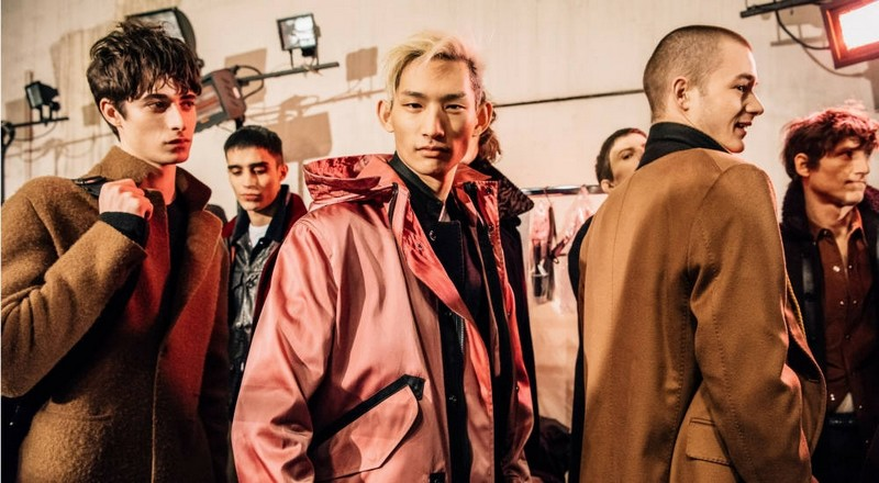 Haider Ackermann's debut collection for Berluti FW2017