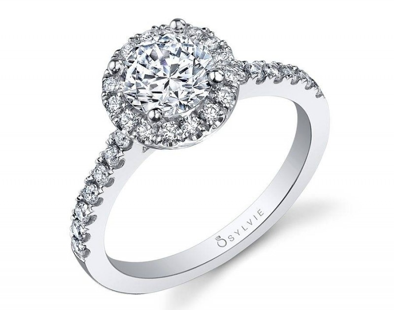 Halo engagement rings are one of the most popular engagement ring styles
