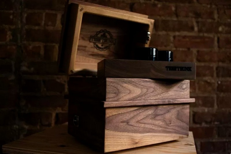 Handmade in Canada First luxury handcrafted cannabis storage box-