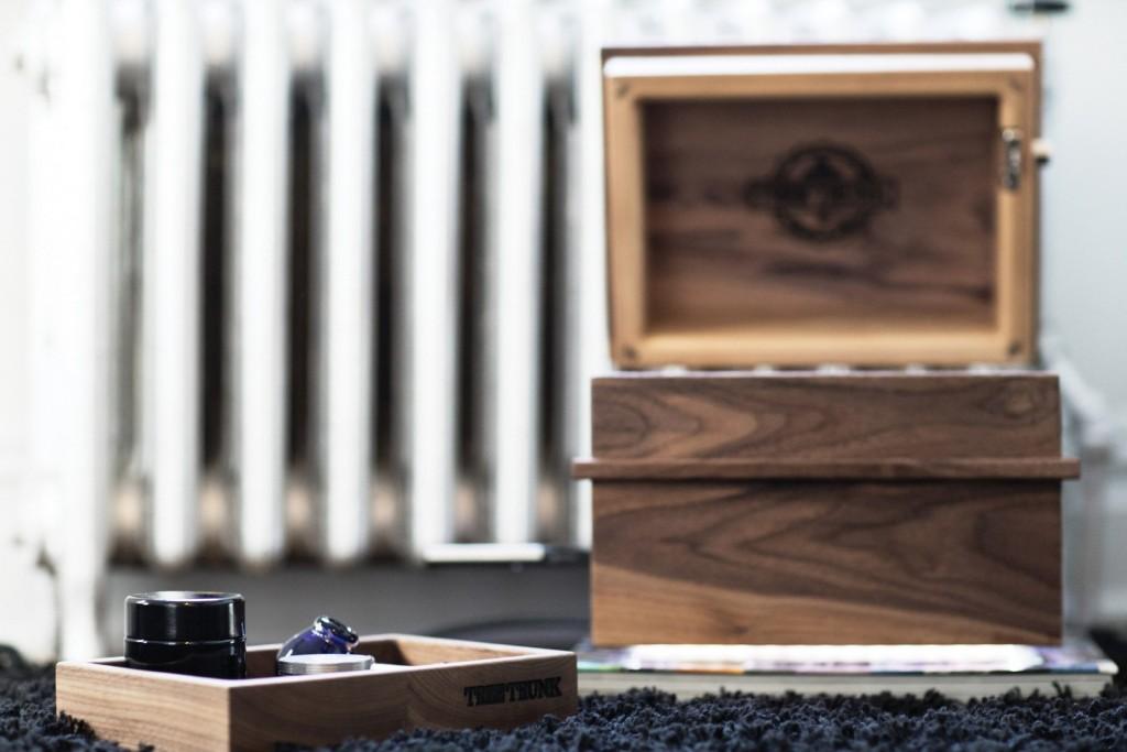 Handmade in Canada First luxury handcrafted cannabis storage box