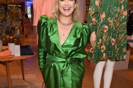Kate Hudson launches Happy x Nature at Selfridges London