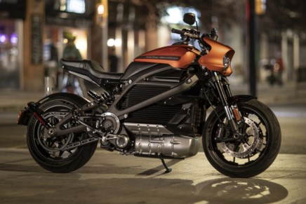 2020 LiveWire motorcycle is the apex in a new era of EV propulsion from Harley-Davidson