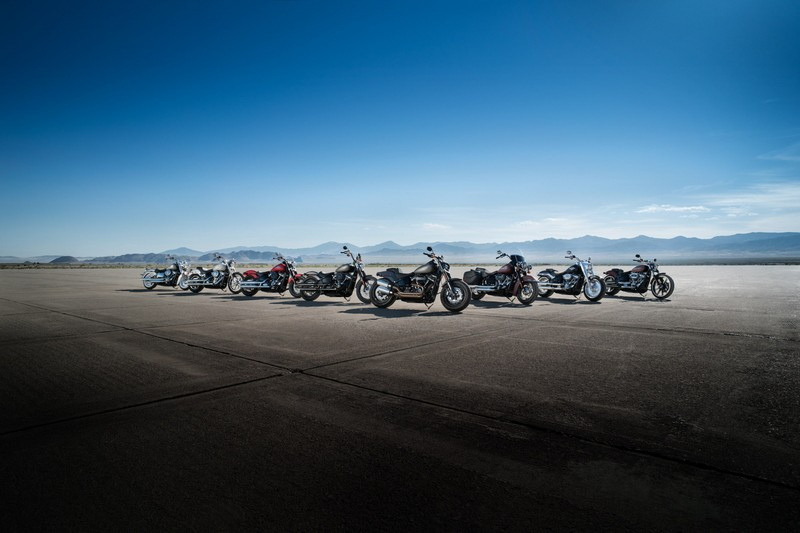 Harley-Davidson launches a fully-transformed Softail® lineup powered by the Milwaukee-Eight™ Big-Twin engine