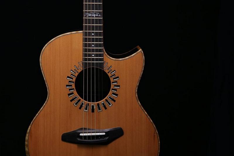 Harmonic Hendrix Home Guitars series-photos