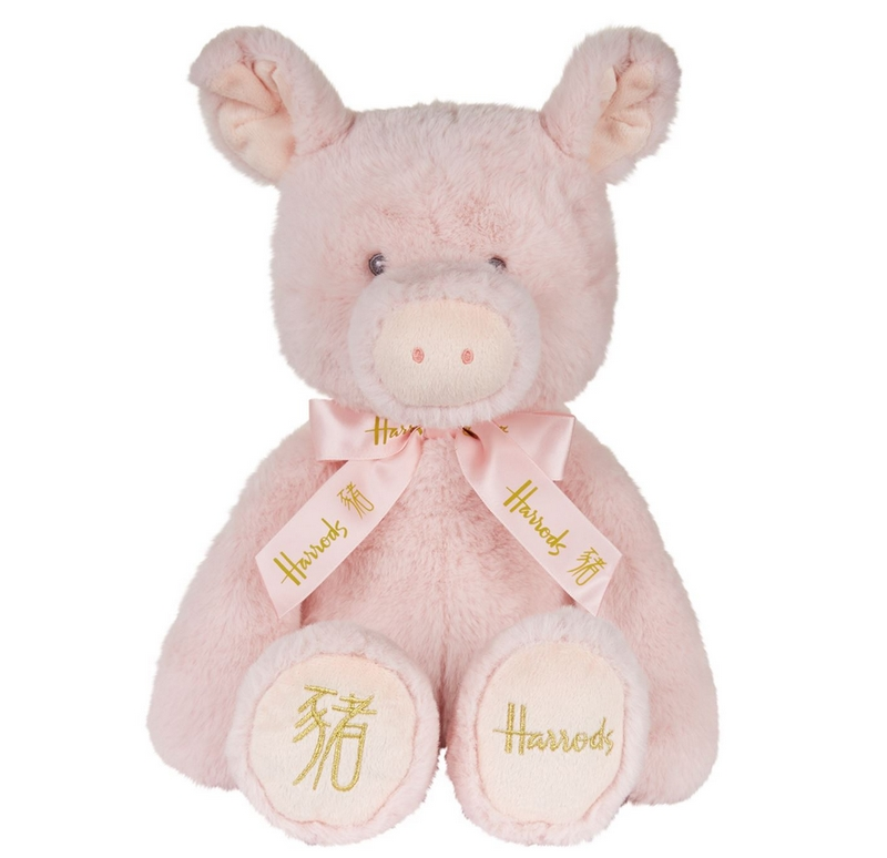 Harrods Chinese New Year Pig Plush Toy