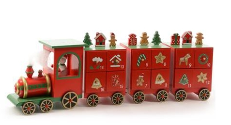 Harrods Train Advent Calendar