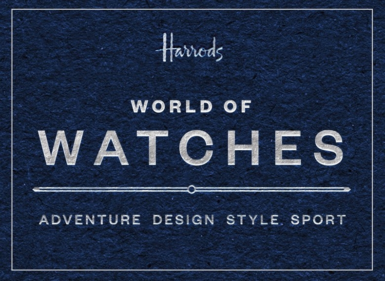 Harrods World of Watches