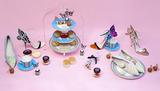 Harrods x Sophia Webster Butterfly-themed Afternoon Tea