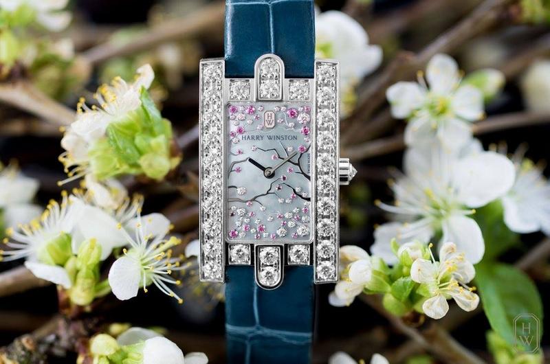 Harry Winston Avenue Classic Cherry Blossom for Baselworld 2017