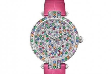 Women are in for a treat with new Harry Winston Ocean Collection 2018 models awash in color