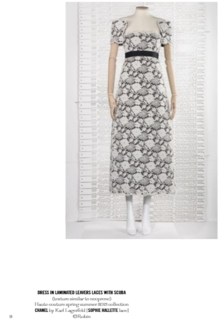 Haute Dentelle Exhibition in Calais - Chanel Dress