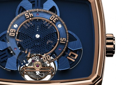 Hautlence HL Vagabonde Tourbillon watch – a unique take on the wandering hours display