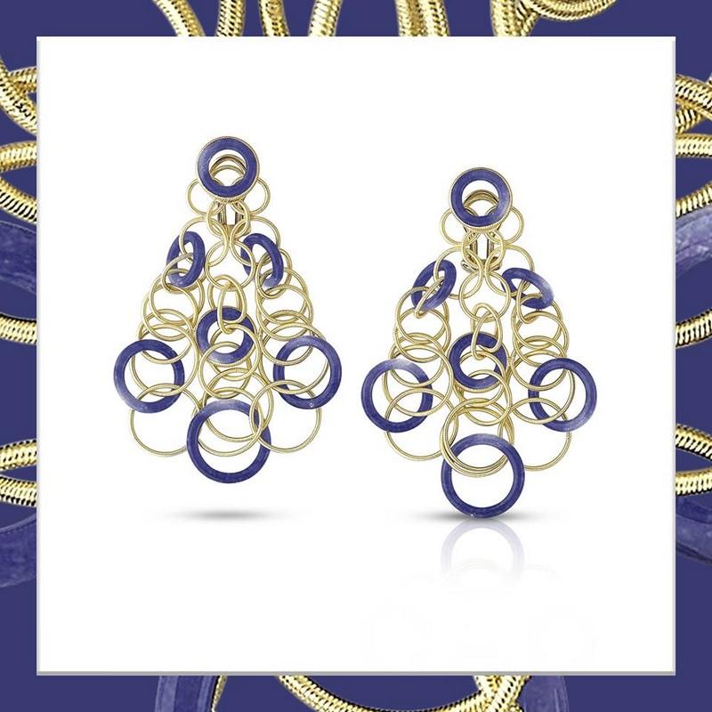 Hawaii Color pendant earrings-
