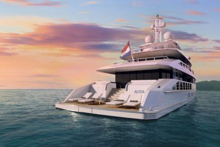Heesen Project Altea is one of the fastest and most economical motor yachts in her class