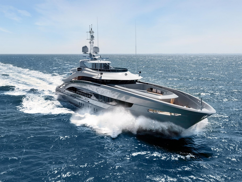 Heesen Yachts YN 18350, christened Omaha, has been delivered to her owners -
