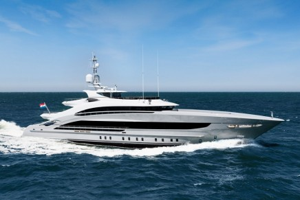 Heesen Yachts delivers Omaha, the first yacht in the new 50 metre steel class