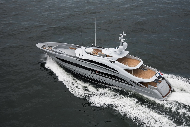 Heesen Yachts YN 18350, christened Omaha, has been delivered to her owners f