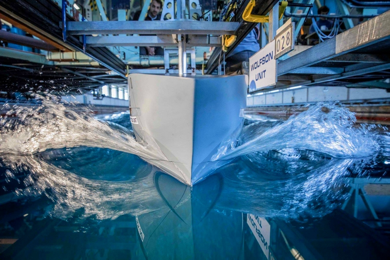 Heesen Yachts YN 18950 Project Aquamarine - The optimization of the hull design has enabled an efficiency gain of 12percent