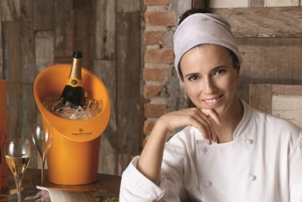Helena Rizzo of Mani Restaurant, in São Paulo, Brazil named Veuve Clicquot World's Best Female Chef 2014
