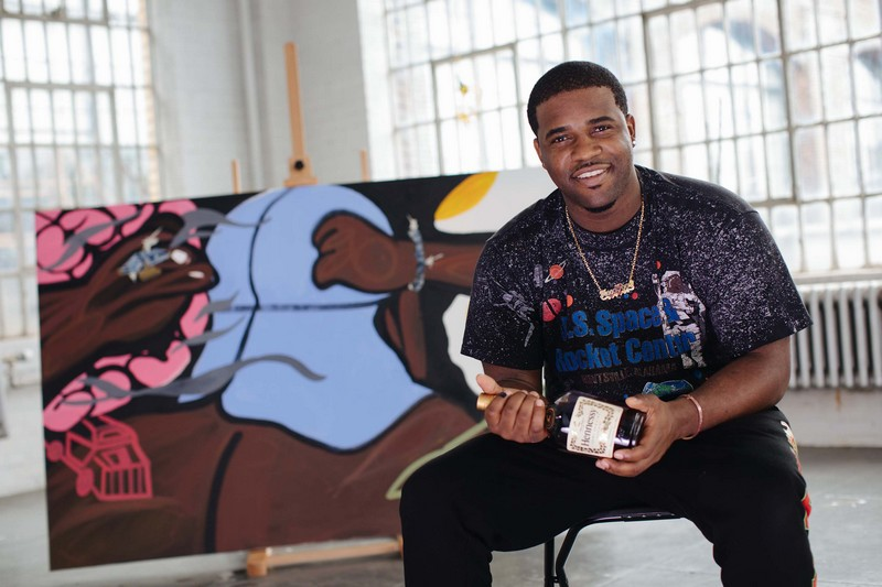 Hennessy Collaborates with A$AP Ferg on Art, Music and Mixology-2018-