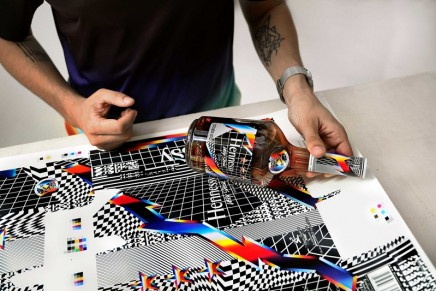 Color, bold graphics and 3D illusions: Felipe Pantone for 2019 Hennessy V.S Limited Edition