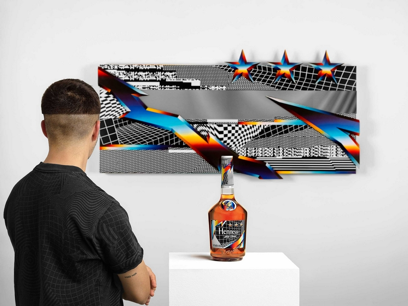 Hennessy releases Hennessy Very Special Limited Edition cognac bottle by artist Felipe Pantone-03