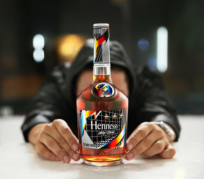 Hennessy releases Hennessy Very Special Limited Edition cognac bottle by artist Felipe Pantone