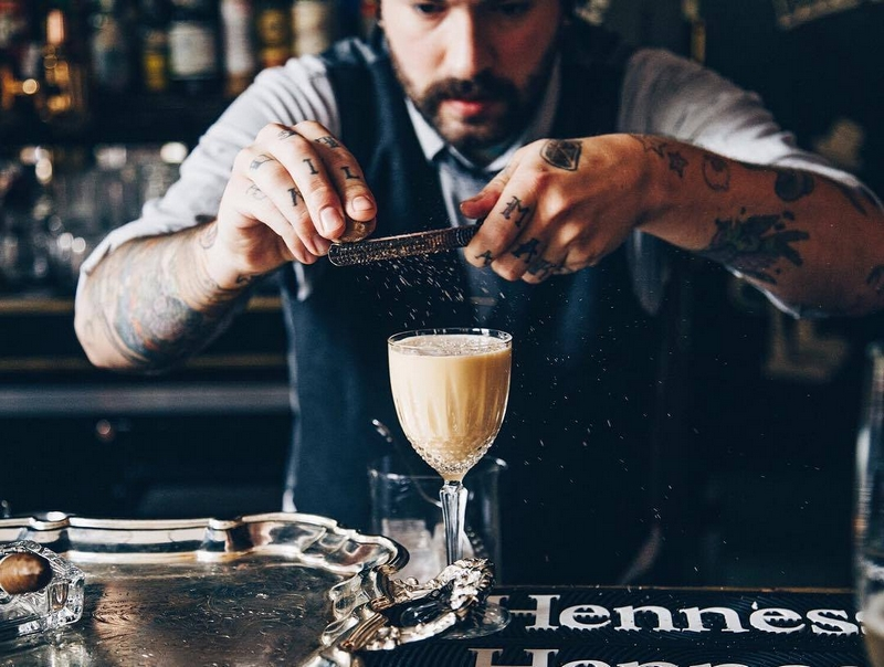 Hennessy saga - Finesse and smoothness in a cocktail