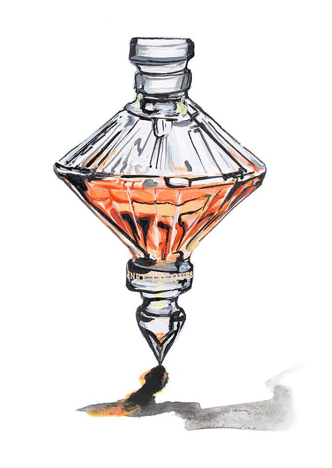 Henry Jacques' playful Les Toupies The Spinning Tops perfume