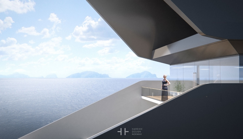 HereideDesign - 108M mega yacht concept - gallery