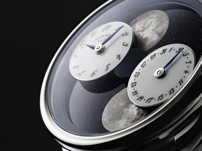 Hermès Arceau L'Heure de la Lune watch: A unique vision of Earth's satellite