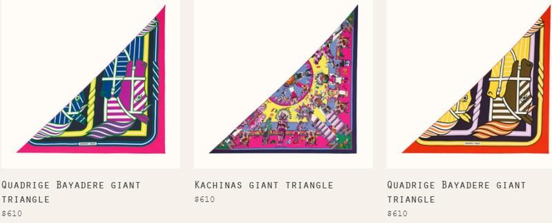 Hermès Triangle Géant scarf