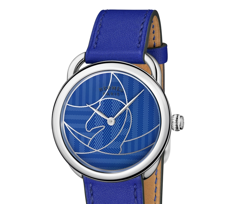 Hermes Arceau Casaque 2018 - electric blue