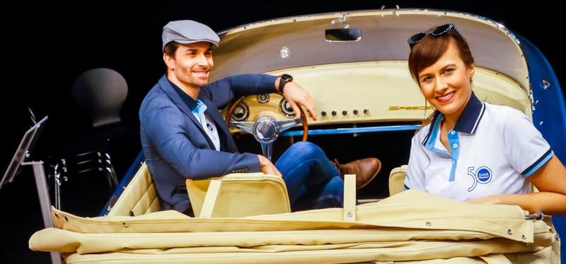 Hermes Speedster in Porsche 356 Design-