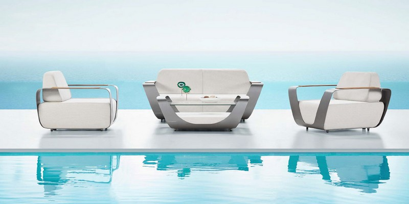 Higold Onda, the outdoor furniture collection designed by Pininfarina for Higold