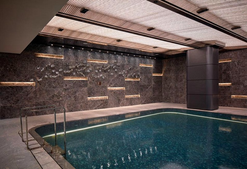 Hirsch Bedner Associates (HBA) completes Ultima Residences Hong Kong - pool