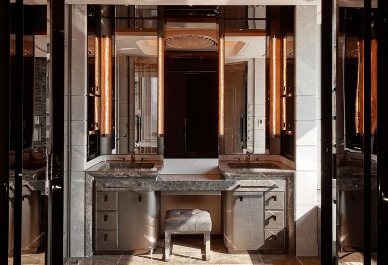 Hirsch Bedner Associates (HBA) completes Ultima Residences - bathroom