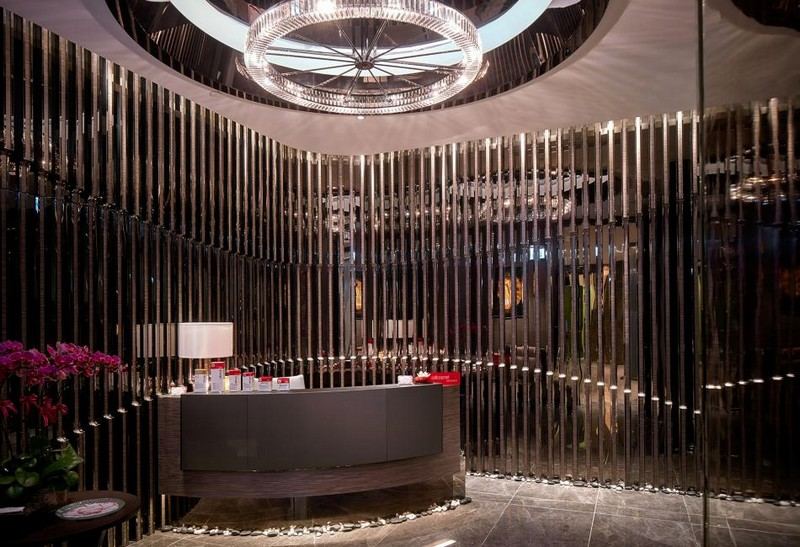 Hirsch Bedner Associates (HBA) completes Ultima Residences - spa reception