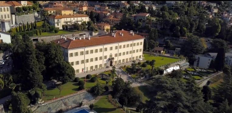 Historic Villa Passalacqua on Lake Como - view