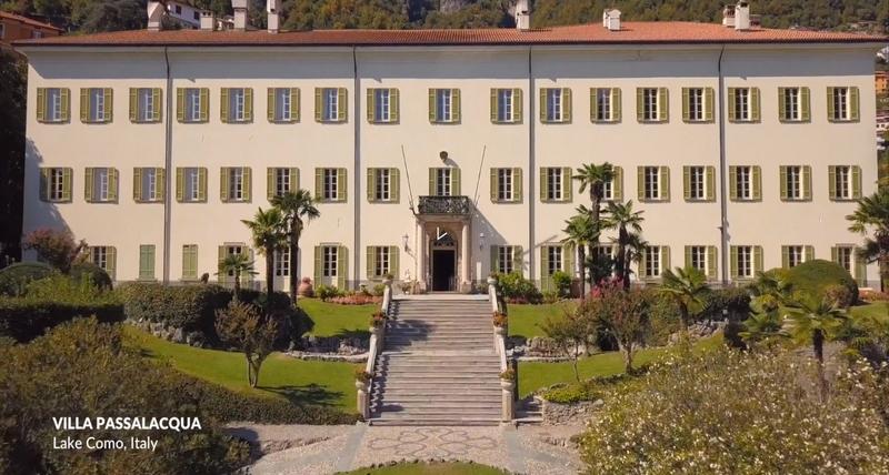 Historic Villa Passalacqua on Lake Como
