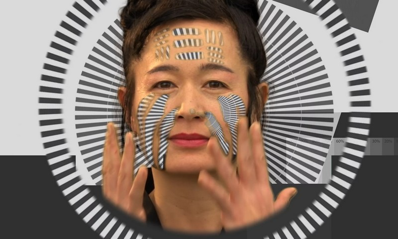 Hito Steyerl in a still from her video piece