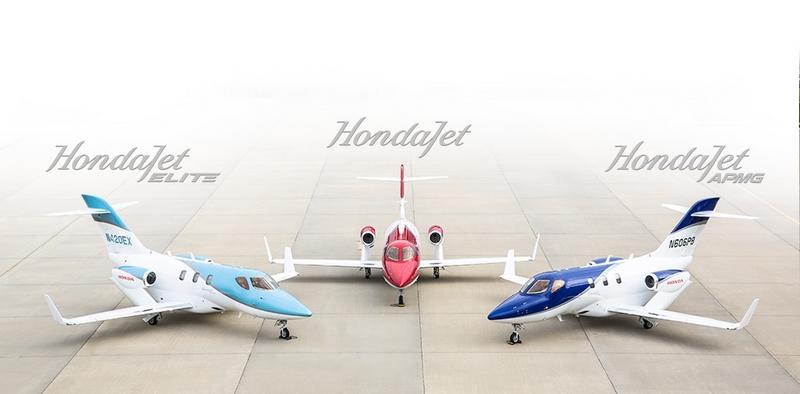 Honda Jet portfolio