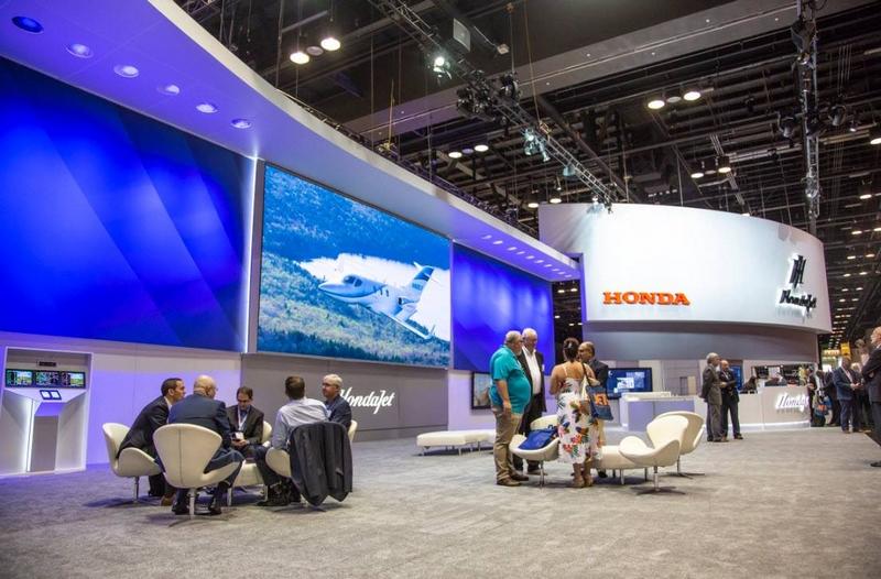 Honda jet NBAA18.