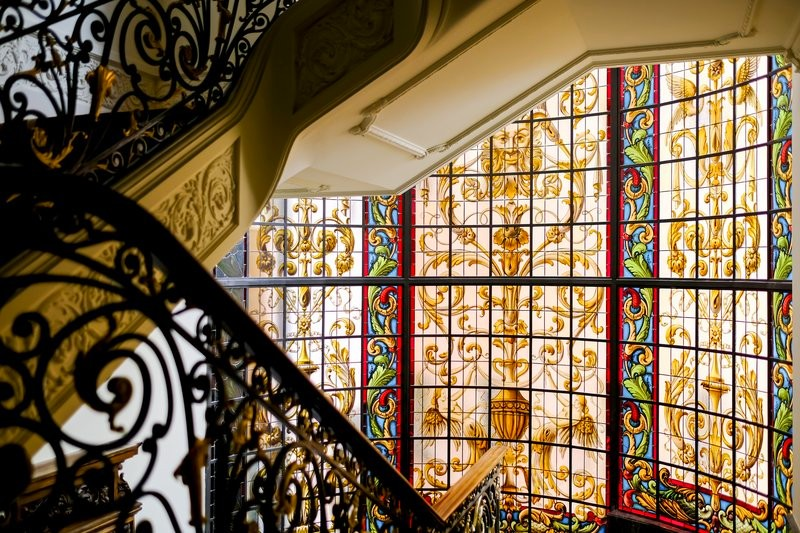 Hotel Infante Sagres - gallery - glass