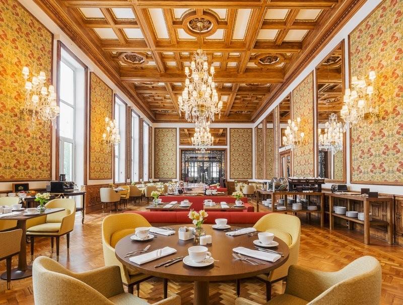 Hotel Infante Sagres - gallery - restaurant