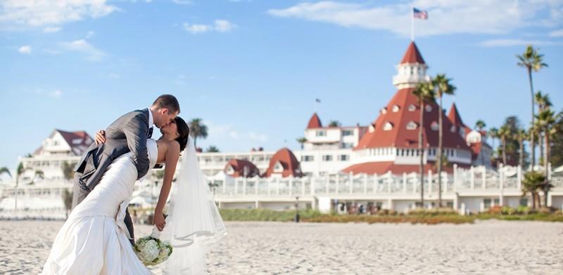 Hotel del Coronado, Curio Collection by Hilton- wedding ceremonies