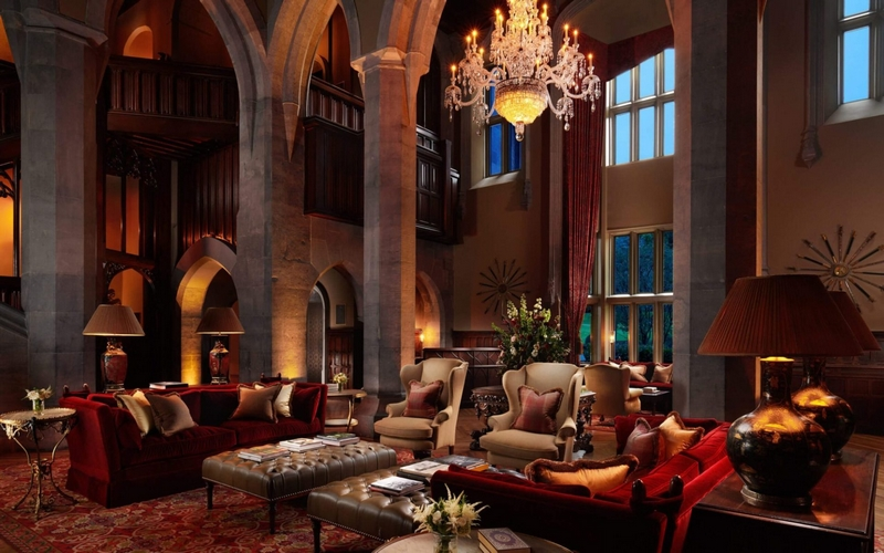 Hotel of the Year — Adare Manor Lobby