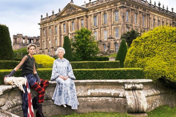 Chatsworth House hosts fashion exhibition sponsored by Gucci