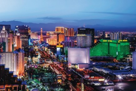 How did Las Vegas become such a glamorous destination?